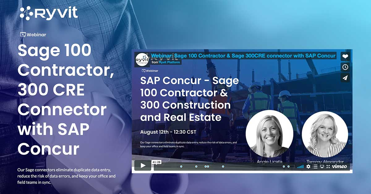 Sage and Concur Webinar